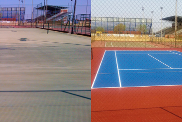 Game on for Vosloorus community as tennis courts get a make-over
