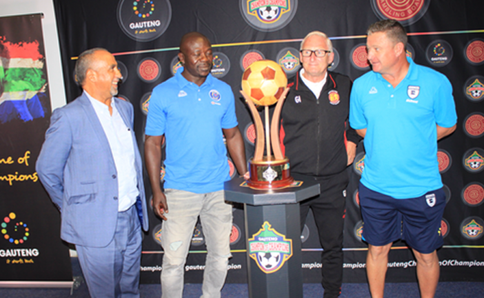 "The Gauteng Champion of Champions PSL tournament is ""all-out entertainment""."